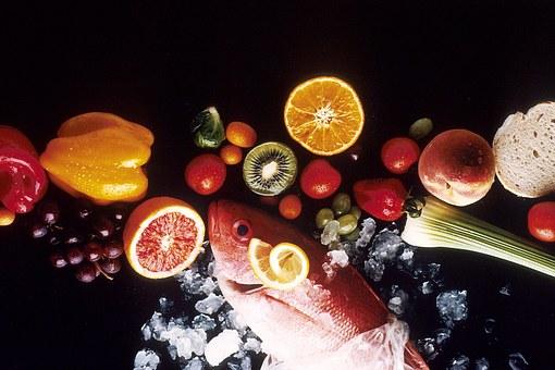 healthy-food zelenchuci riba pix