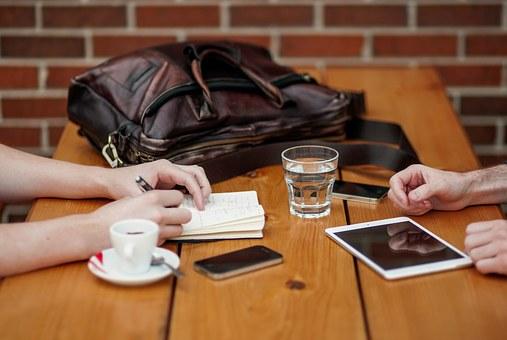 coffee water business-meeting pix