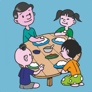 children eating pix 1