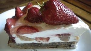 Лека ягодова торта 1