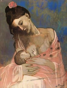 Picasso,1905, Maternité Mother and Child