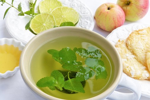 menta tea peppermint pix 1