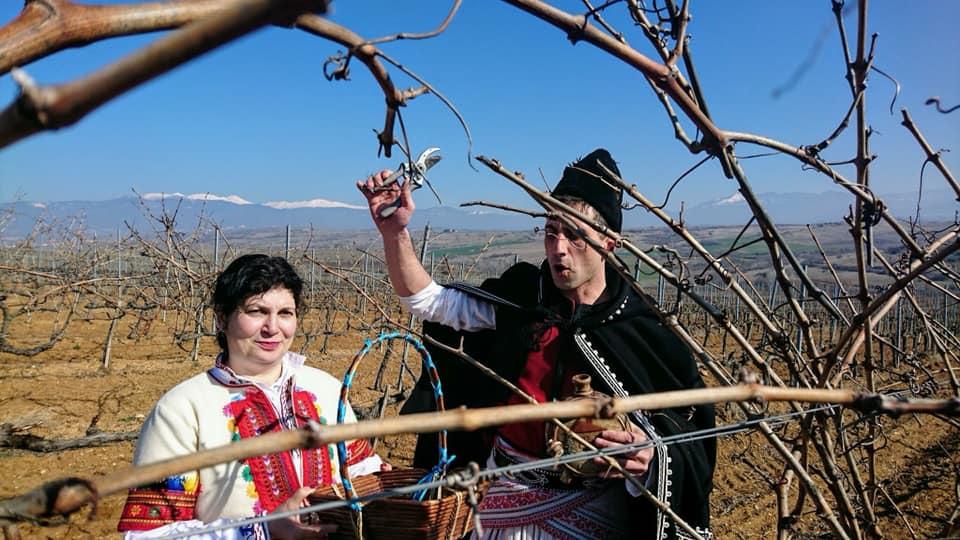 На Трифоновден в Винарска изба Рупел - Rupel Winery, до Мелник