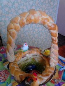 кошница, козунак, Великден