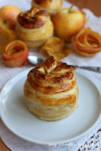 Ябълки в бутер тесто за Димитровден