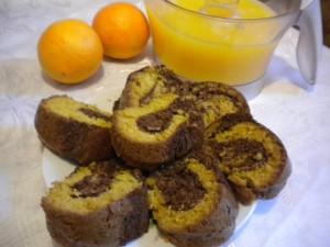 keks portokali kakao