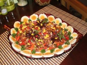 pystra zimna salata