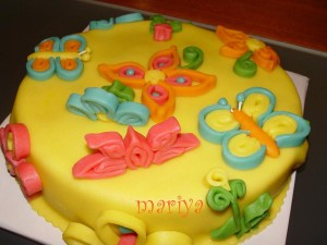 Квилинг торта
