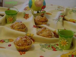 kozunak muffin