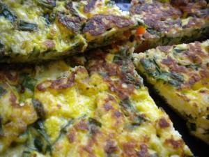 omlet spanak