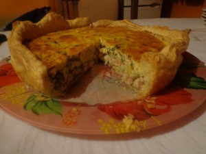 kish solena torta