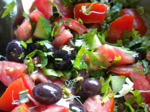 salata domati kylnove maslini