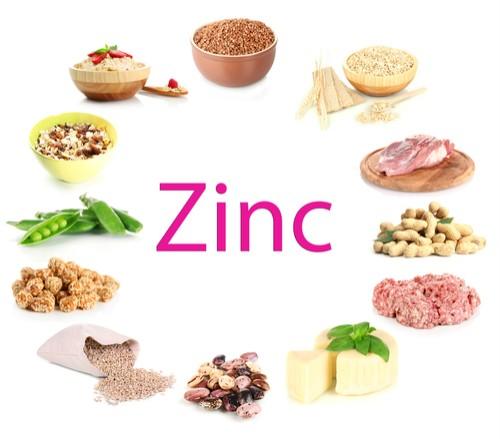 продукти, които съдържат цинк