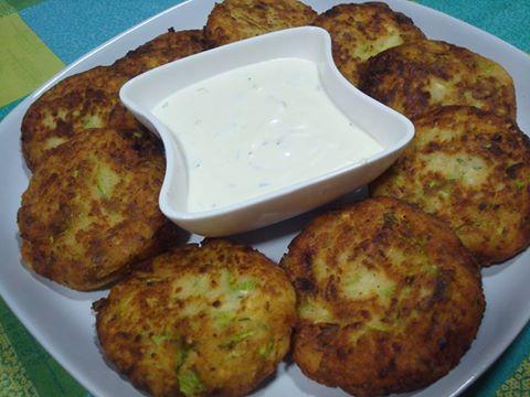 кюфтета от тиквички и картофи