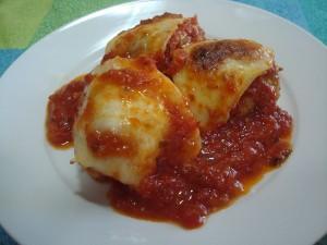 Кюфтета на фурна с доматен сос 2