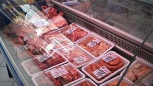 месо в магазина