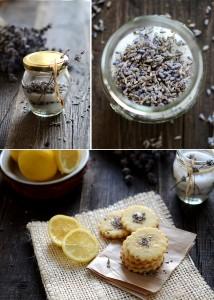 Лавандулови бисквити с лимон