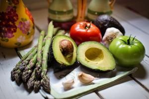 avocado asparagus pix