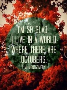 """""""Толкова съм щастлива, че живея в свят, в който има октомври!"""""""