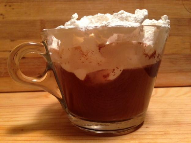 Домашен топъл шоколад