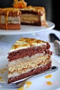 Торта с халва