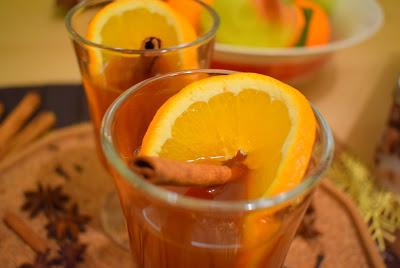 Ябълков пунш с портокали