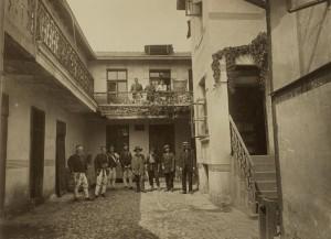 Първа българска фабрика за тахан и захарни изделия в София. 1912 г.