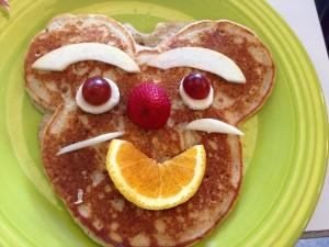 pancake fruit pix