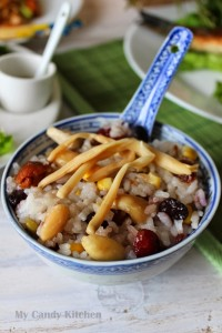 Китайски оризов пудинг