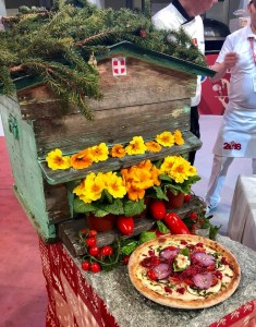 pizza modiale flowers