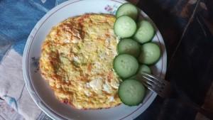 omlet tikvichki