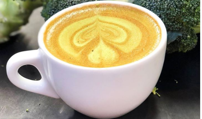 coffee broccoli