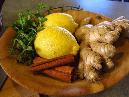ginger lemon kanela pix