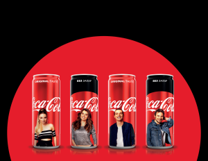 Coca-Cola AR Cans