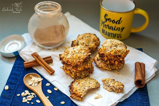 Протеинови бисквити без захар и брашно