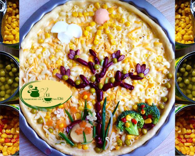 Солен пай с царевица