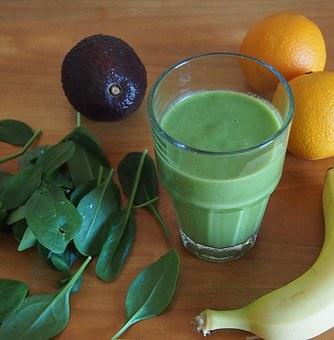 green-smoothie spanan avocado banan pix