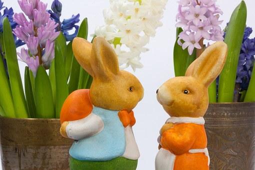 easter-eggs-pix zajci cvetya