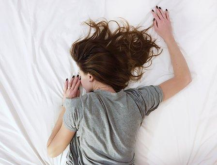 sleep pix woman
