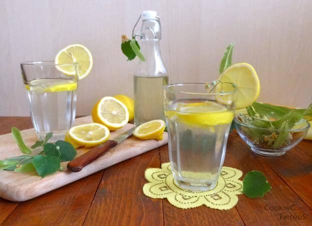 сироп от липа и лимон