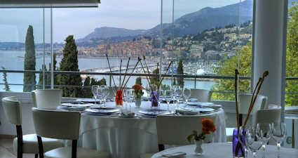 Mirazur michelin restaurant Menton