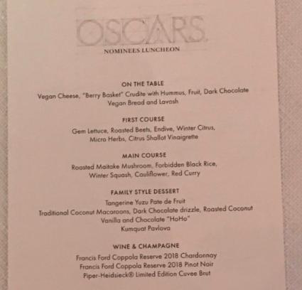 oskar menu